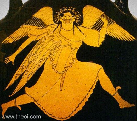 Gorgon Medusa | Athenian red-figure amphora C5th B.C. | Staatliche Antikensammlungen, Munich