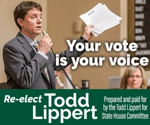 An ad for Minnesota House of Representatives candidate Todd Lippert