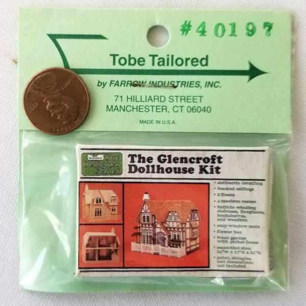 Dollhouse Kit Box Farrow Industries Dollhouse Miniatures 1:12 Scale