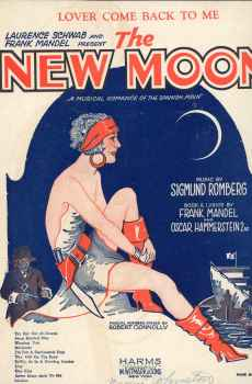 Lover Come Back To Me Vintage Sheet Music 1928 The New Moon Musical Operetta Romberg Hammerstein