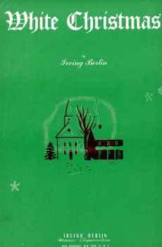 White Christmas Vintage Sheet Music 1942 Holidays Irving Berlin