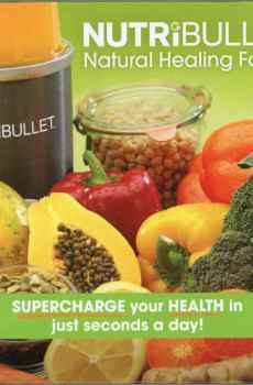 NutriBulle Natural Healing Foods Recipes Cookbook Supercharge Your Health in Just Seconds a Day