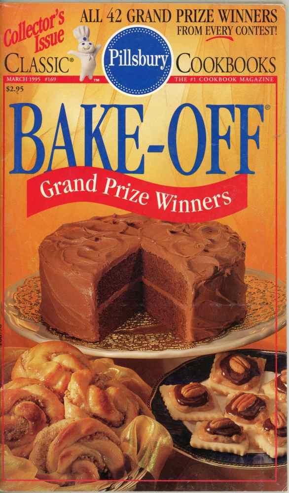 Pillsbury Bake Off All 42 Grand Prize Winners Cookbook Classic #169 1995