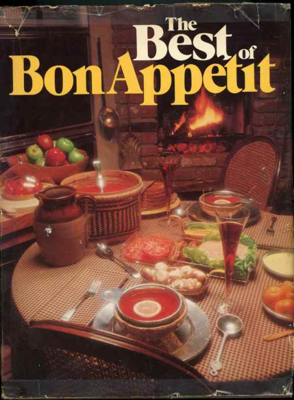 The Best of Bon Appétit Vintage Cookbook Recipes 1979 Hardcover