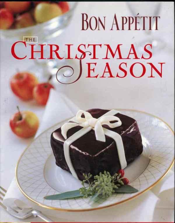 Bon Appétit The Christmas Season Vintage Cookbook Recipes 2000 Hardcover