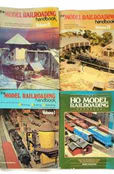The Model Railroading Handbook Volumes 1 2 3 HO Trains How To Guides Robert Schleicher