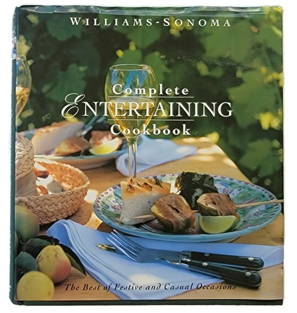 Williams Sonoma Complete Entertaining Cookbook Festive Party Recipes Huge Hardcover