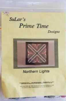 SuLar's Prime Time Designs Northern Lights Needlepoint Kit Complete Needlework 1992 New
