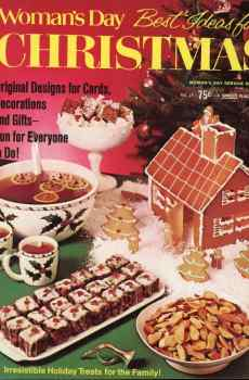 Woman's Day Best Ideas for Christmas Number 15 1973 Vintage Mid Century Original Designs Decorations