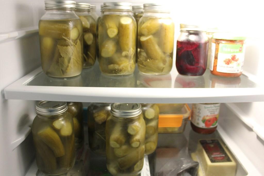 Leftover pickles