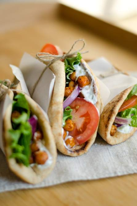 Roasted-Chickpea-Gyro
