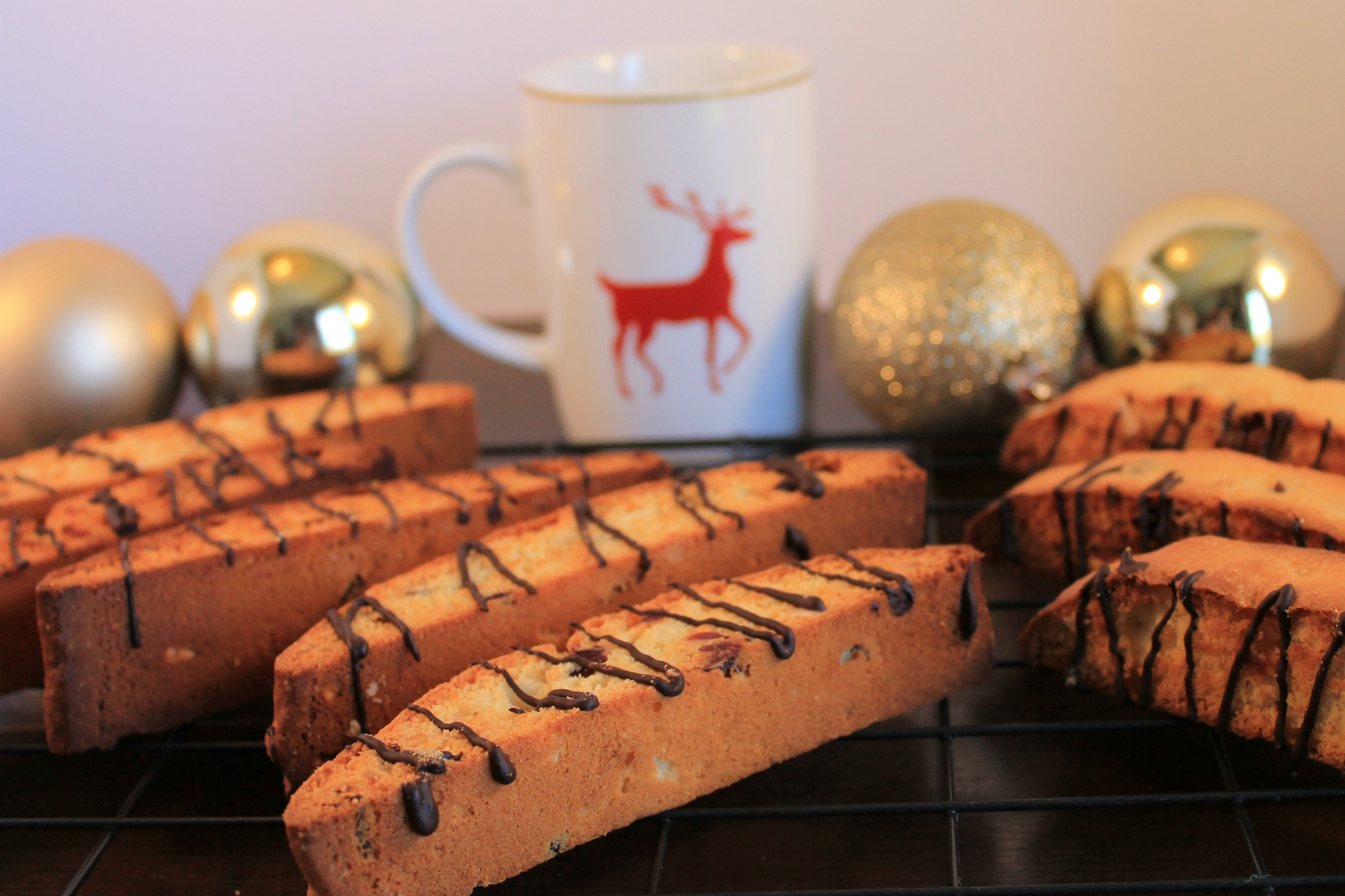 White Chocolate Cranberry Biscotti Day 3 The Olive Blogger