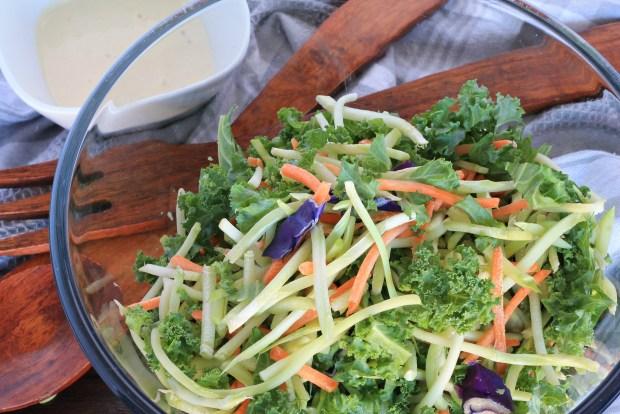 Kale-Broccoli-Slaw