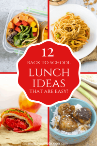 Back to School Lunch Ideas and More
