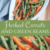 Herbed Green Beans and Carrots
