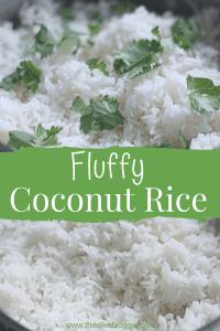 Fluffy Coconut Rice