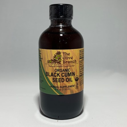 The Olive Branch Organic Black Cumin Seed Oil 4 Fl oz