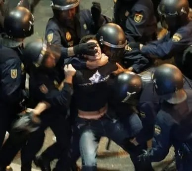 Anti-austerity protests set to continue throughout Spain