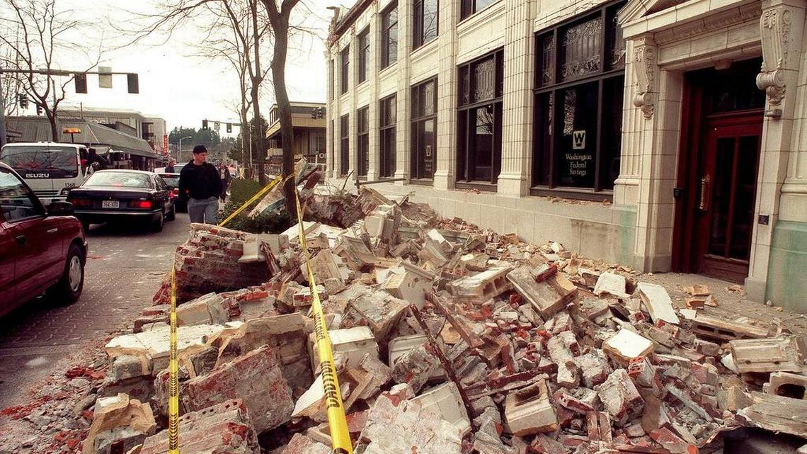 PHOTOS The Nisqually Earthquake Of 2001 The Olympian