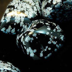 Snowflake Obsidian Tumbled