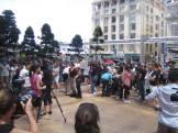 Hobbit Rally in Auckland