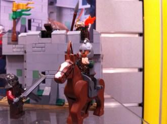 Eomer in the Uruk-Hai Army LEGO Set