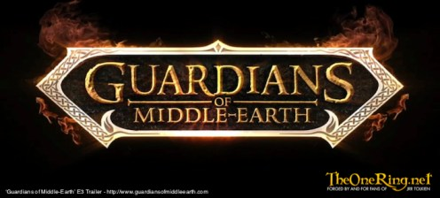 Guardians Of Middle Earth Video Game, E3 2012_Logo-imp