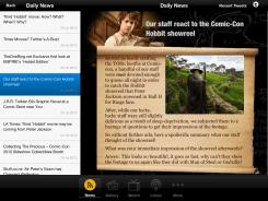 TheOneRing.net iPad App 04
