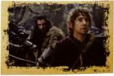 Thorin and Bilbo in Mirkwood.