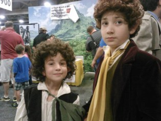 Hobbit kids at SLCC 2013.