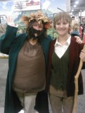 Tom Bombadil and Bilbo Baggins, SLCC 2013