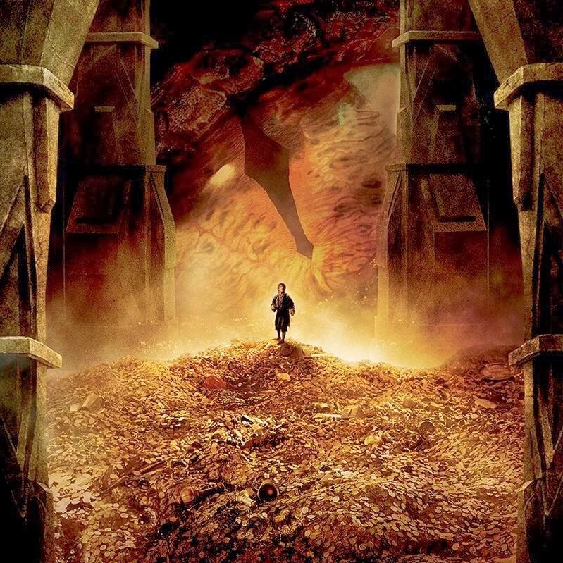 Melting Gold In The Hobbit: The Desolation Of Smaug