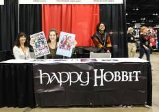 Happy Hobbit fan table