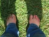 Barefoot in Hobbiton!