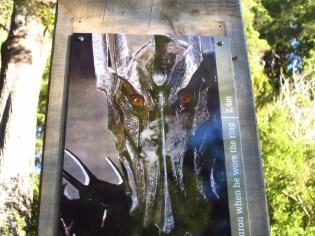 Sauron's eyes?! Just... no.
