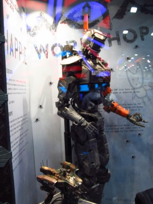Weta built all the robots for CHAPPiE!