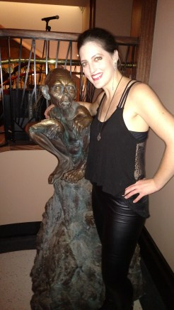 I found Gollum at a party at the Roxy Cinema!