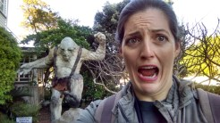 This is why I lost the ponies! (Outside of the Weta Cave)