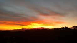 A true Middle-earth sunset