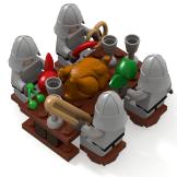 Minas Tirith Soldier Feast