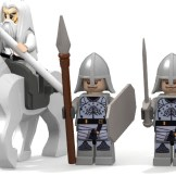Minas Tirith good minifigures done second half