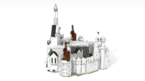 New Minas Tirith side