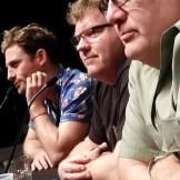 (l-r) Dean O' Gorman, Stephen Hunter, Peter Hambleton at DragonCon 2015