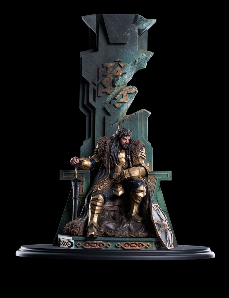 Collecting The Precious Weta Workshop S King Thorin On Throne