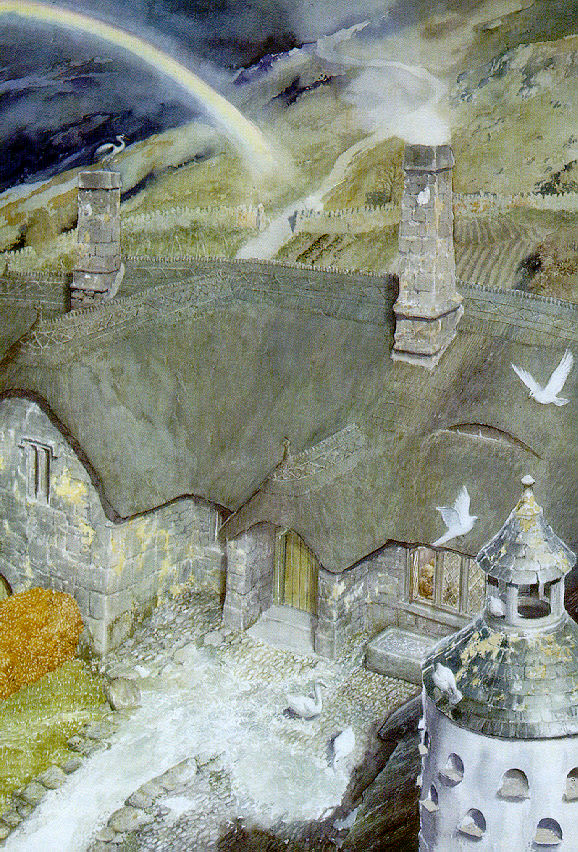 The House of Tom Bombadil by Alan Lee