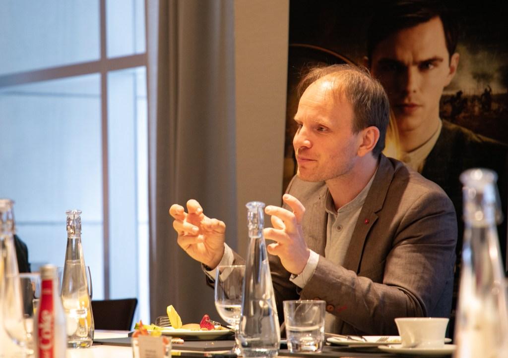 Dome Karukoski at Press Screening of 'Tolkien'