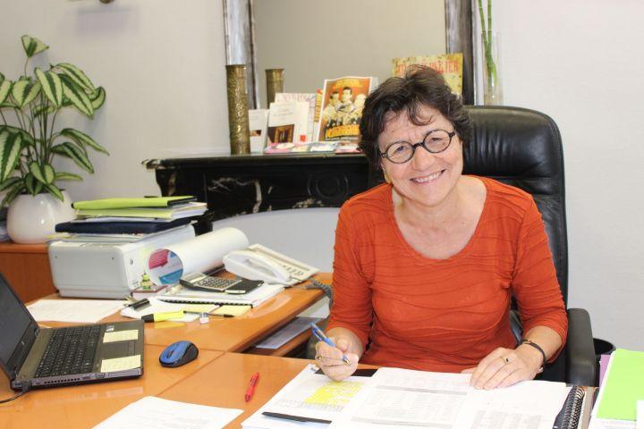 Hélène Prévost, Proviseur du lycée Théophile-Gautier © Hervé Cazcarra
