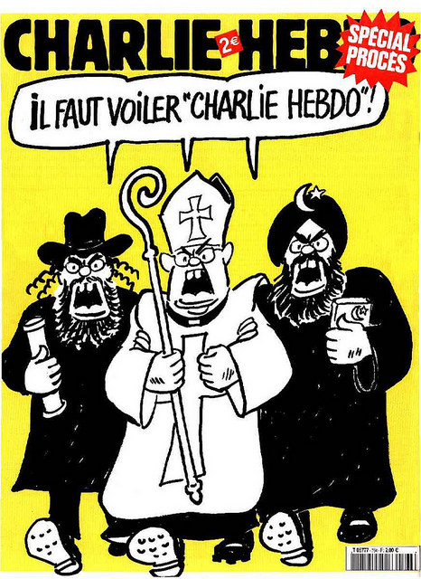 "Republishing a ""Charlie Hebdo"" cover - © Mona Eberhardt www.flickr.com/photos/monaeberhardt/16042986338"