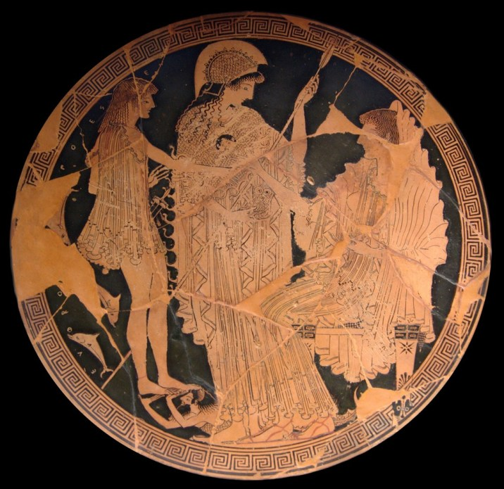 ©https://commons.wikimedia.org/wiki/File:Theseus_Athena_Amphitrite_Louvre_G104.jpg