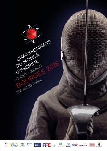 Affiche Championnat Monde 2016 Bourges